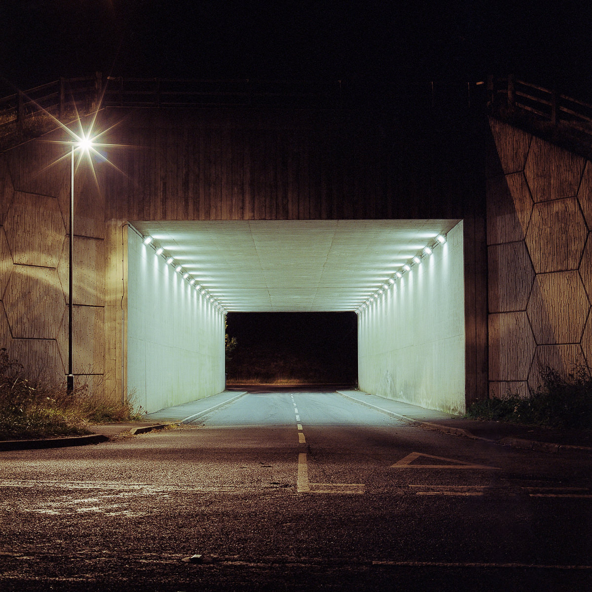 Contemporary landscape photography - underpass near Leeds