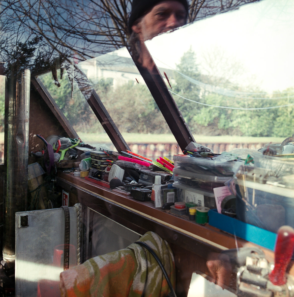 Castle Part 1 documentary photography alternative living Canal boat interior