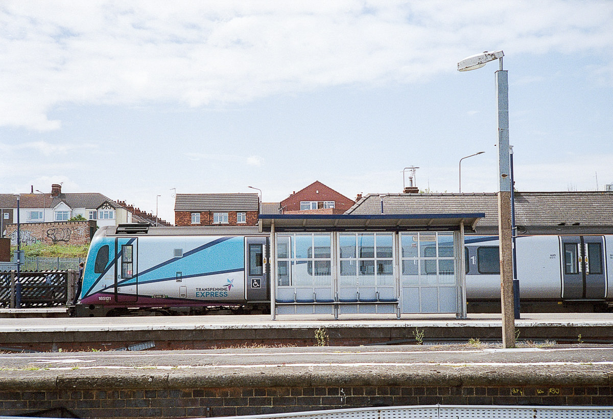 Cleethorpes railway station - documentary photographer