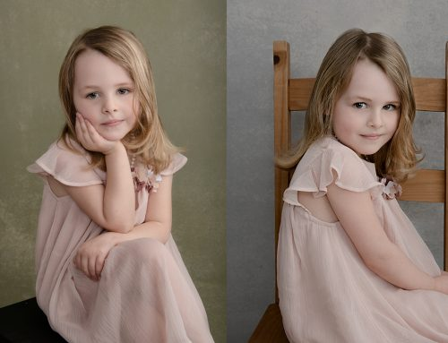 Children's Portraits: Some fun in The Studio